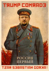Sebastian Gorka • Trump Comrade